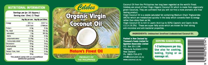 Dare virgin coconut oil new zealand suggest